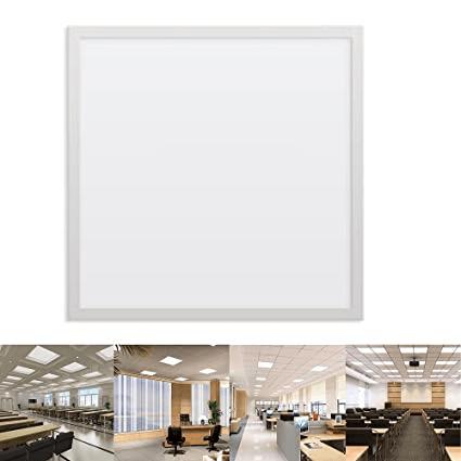Dalle carre LED encastrable extra plat 48W 59,5cm*59,5cm Lumière Blanche (6500k)
