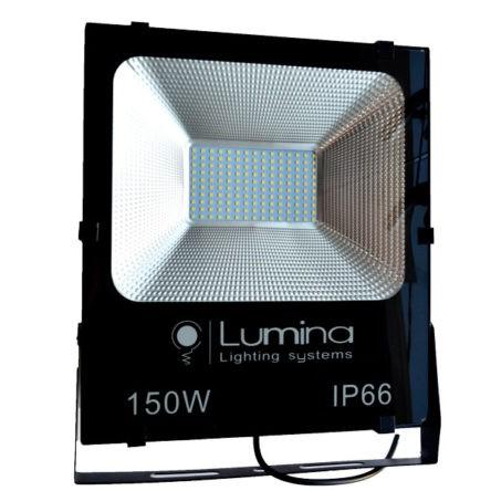 Projecteur LED SMD 150W noir 115 Lumière blanche (6500k)