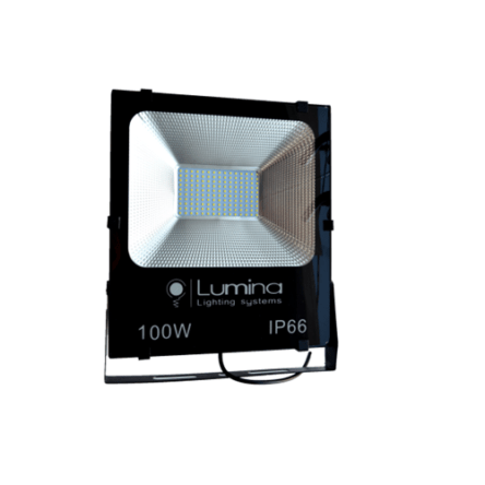 Projecteur LED SMD 100W noir 115 Lumière blanche (6500k)