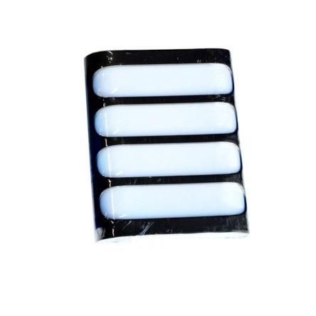 Applique murale LED rectangulaire plate IP54 20W Lumière blanche (7000k)
