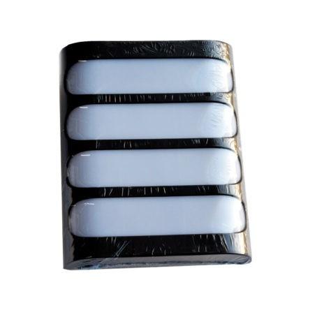 Applique murale LED rectangulaire plate IP54 20W Lumière Jaune (3000k)