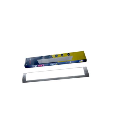 Reglette plate LED intégré 60CM 18W Lumière Blanche (6500k)