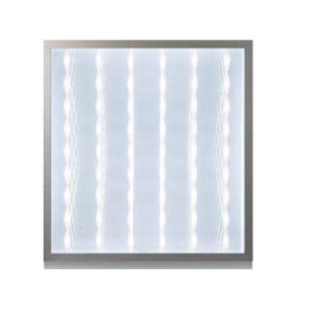 Dalle carre LED QH encastrable prismatique 3D 60W 59,5cm*59,5cm Lumiere Blanche (6500k)