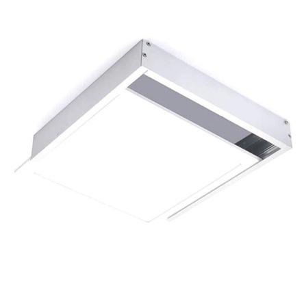 Dalle carre LED apparent extra plat 48W 59,5cm*59,5cm Lumière Blanche (6500k)
