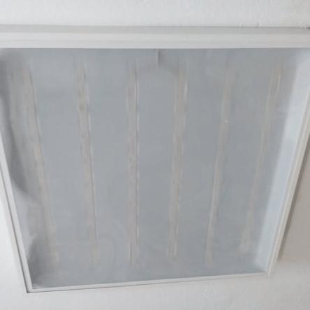 Dalle carre LED QH apparent prismatique  3D 60W 59,5cm*59,5cm Lumiere Blanche (6500k)