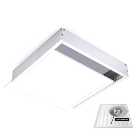 Dalle carre LED QH apparent 48W 59,5cm*59,5cm Lumiere Blanche (6500k)