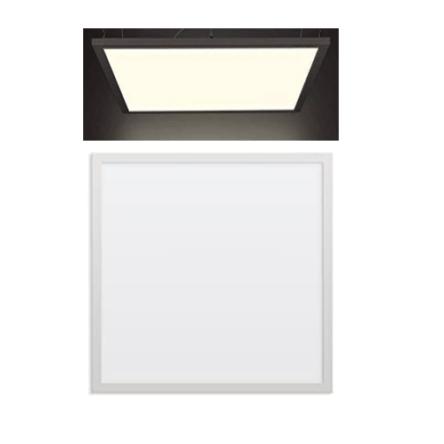 Dalle carre LED encastrable extra plat 48W 59,5cm*59,5cm Lumière Naturelle (4000k)