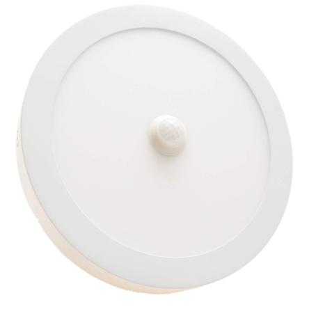 Spot LED apparent 18W avec capteur de mouvement Lumière Blanche (6500k)
