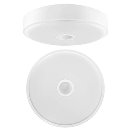 Spot/Applique LED apparent 20W avec capteur de mouvement Lumière Blanche (6500k)