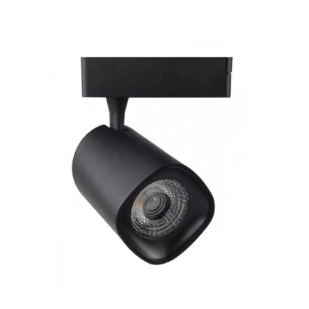 Projecteur LED Sur Raille Noir 30W Lumière Blanche (6500k)