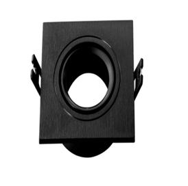 Spot Encastrable Noir Carré