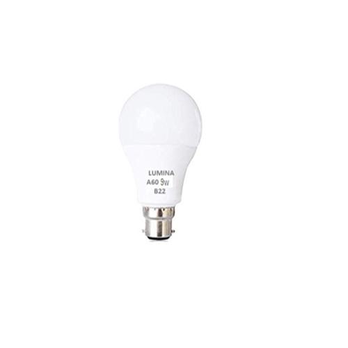 Lampe Standard LED A60 9W Base B22 Lumière Blanche (6500k)
