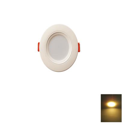 Spot LED Encastrable – 3W Rond Down Light SMD – Lumière Jaune (3000k)