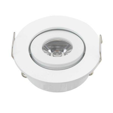 Spot Niche LED Rond Encastrable 3W Lumière Blanche (6500K)