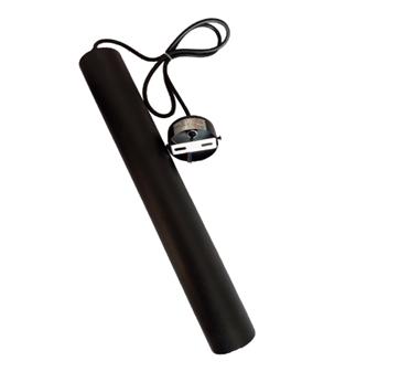 Applique Descente cylindrique LED Noir 10W Lumière Naturelle (4000k) – Taille 400mm / Ø55