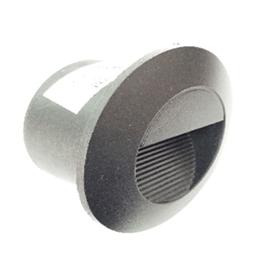 Spot pour être encastré au mur et escalier Rond Ø85mm LED 3W Lumière Jaune (3000k)