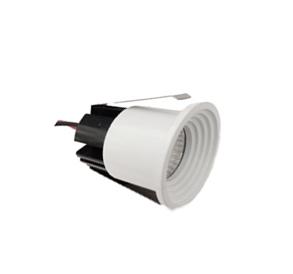 Spot Niche LED Rond Blanc Encastrable 3W Lumière Blanche (6500)