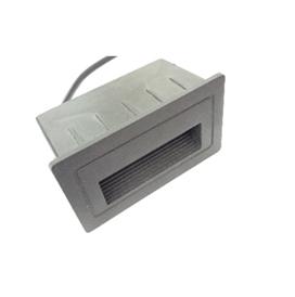 Spot pour être encastré au mur et escalier Rectangulaire 105*58mm LED 3W Lumière Jaune (3000k)