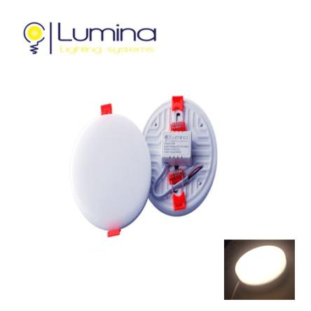 Spots LED Encastrable – 3D Réglable – 10W Rond sans cadre- lumière naturelle (4000K)